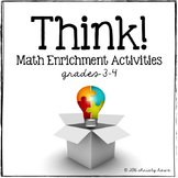 THINK! Math Enrichment Activities (grades 3-4)