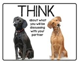 THINK, PAIR, SHARE Posters - Animal Theme