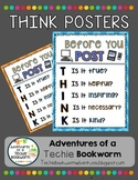 THINK Poster- Digital Citizenship