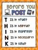 THINK Poster- Digital Citizenship