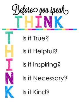 THINK Print Art