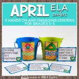 THINK Spring April ELA Centers + Digital Bundle