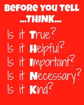 THINK chart