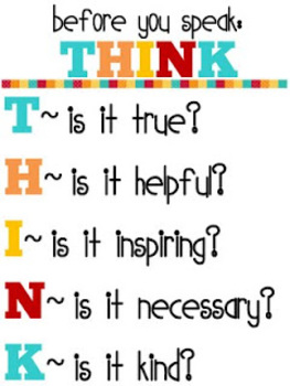 THINK poster printable