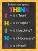 THINK poster with boarder