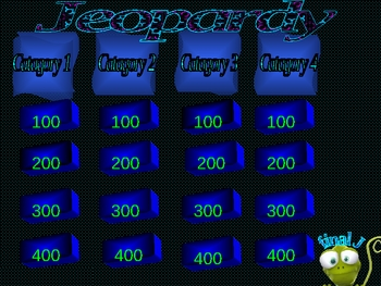 THINKEPARDY GAME TEMPLATE (ALIEN THEME)