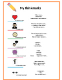THINK MARKS WITH SENTENCE STARTERS