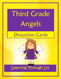 THIRD GRADE ANGELS by Jerry Spinelli - Discussion Cards PRINTABLE & SHAREABLE