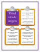 THIRD GRADE ANGELS by Jerry Spinelli - Discussion Cards