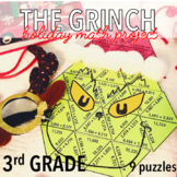 THIRD GRADE CHRISTMAS MATH PROJECT - THE GRINCH