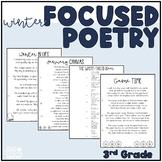 Focused Poetry 3rd Grade: Winter Edition