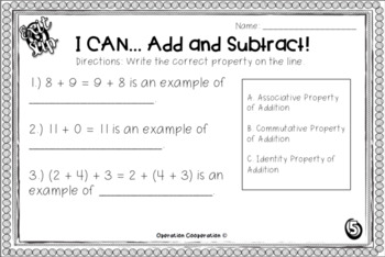 THIRD GRADE MATH EXIT SLIP GROWING BUNDLE