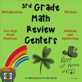 THIRD GRADE St. Patrick's Day Math Review
