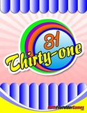 THIRTY-ONE: Addition-Subtraction Math Game