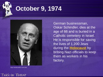 THIS DAY IN HISTORY: October
