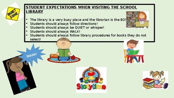 THIS IS THE SCHOOL LIBRARY