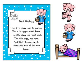 THIS LITTLE PIGGY  NURSERY RHYME