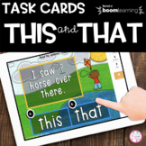 THIS and THAT Boom Cards™ | Distance Learning