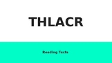 THLACR Reading Strategies