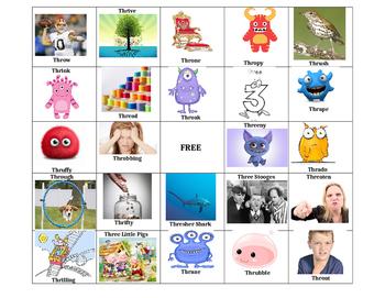 THR Bingo for Phonology