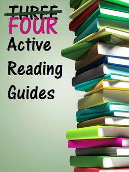 FOUR Active Reading Guides, incl. The Monkey's Paw, The Lottery Ticket