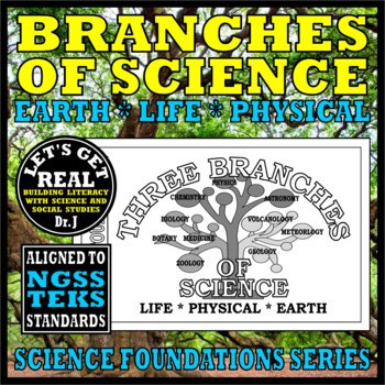 THREE BRANCHES OF SCIENCE: Earth, Life, & Physical (Science Foundations series)