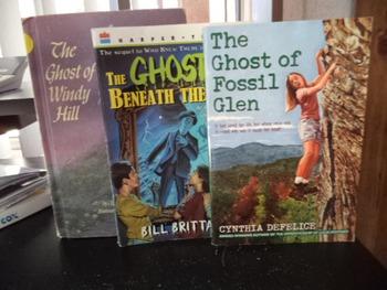 THREE GHOST STORY BOOKS         (SET OF 3)