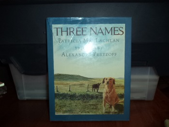 THREE NAMES   ISBN 0-06-024035-0