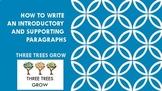 THREE TREES GROW - Expository Writing Stratagy