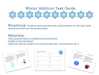 THREE Winter Addition Centers