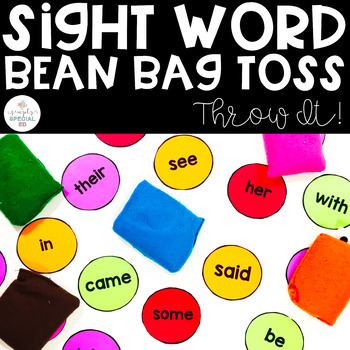 THROW IT! Sight Word Bean Bag Toss!