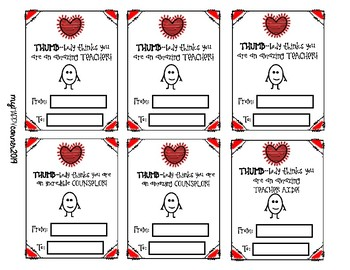 THUMB-body Valentines Day Cards