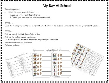 THUMBS UP/THUMBS DOWN Daily Communication Sheet * SPECIAL EDUCATION