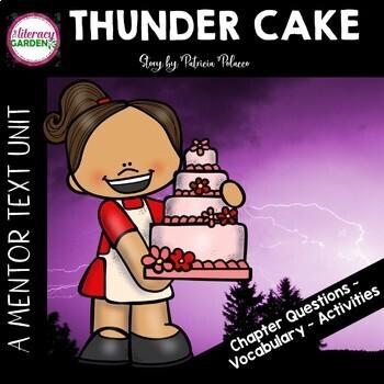 THUNDER CAKE {Beyond the Read Aloud}