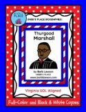 THURGOOD MARSHALL BIOGRAPHY Book and Coloring Book