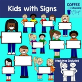 Kids with Signs
