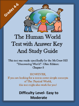 THe Human World Test and Study Guide- Chapter 3 McGraw-Hil