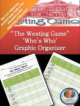 """THe Westing Game """"Who's Who"""""""