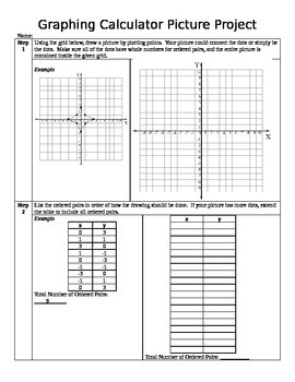 TI 73 Graphing Calculator Activity