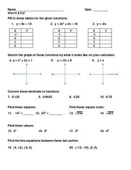 TI-83 Calculator Strokes