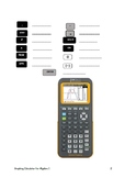 TI-84+ CE Graphing Calculator for Algebra Section 1 Lessons