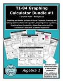 TI-84 Graphing Calculator Bundle #1