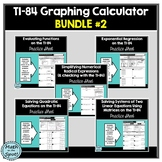 TI-84 Graphing Calculator Bundle #2