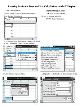 TI-Nspire Graphing Calculator Tutorials