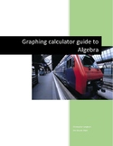 TI-Nspire Graphing Calculator for 8 Grade Math (Pre-Algebra)