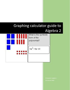 TI Nspire Graphing Calculator for Algebra 2