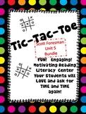 TIC TAC TOE BUNDLE 1st GradeScott Foresman Unit 5