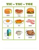 Tic Tac Toe Food