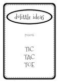 TIC-TAC-TOE - FUN LOGIC ACTIVITY
