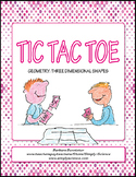 Three-Dimensional Shapes Tic Tac Toe